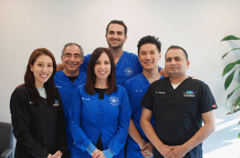 Photo of Dr. Plesset and QODC team