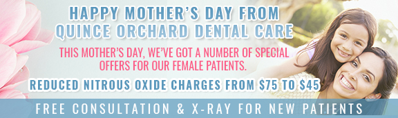 QODC Mother's day banner ad