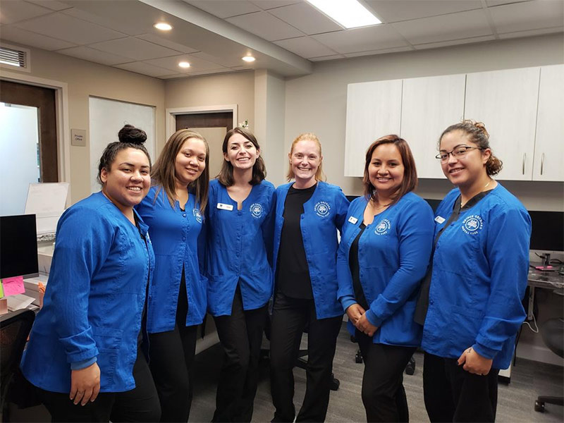 Part of the team at Quince Orchard Dental Care