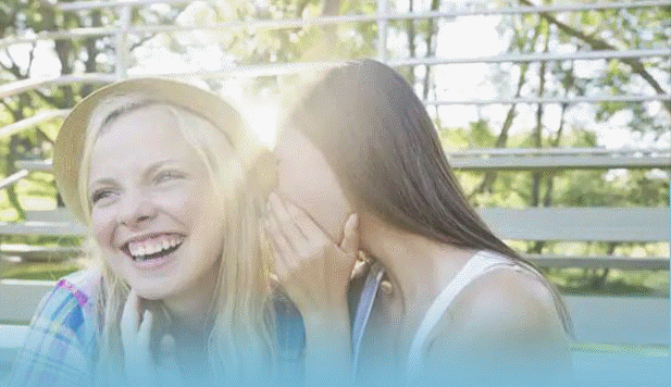 Photo of two teen girls