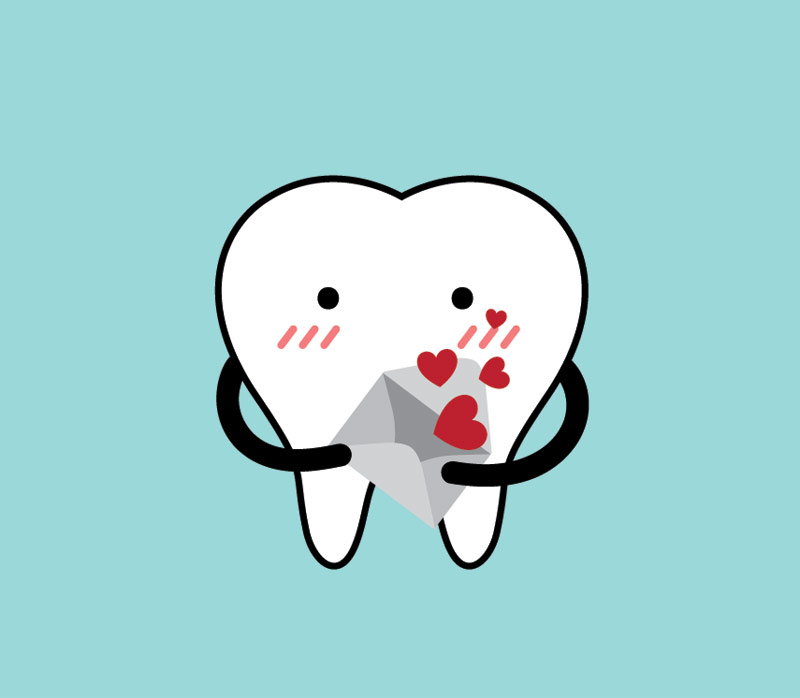Photo of an animated tooth